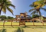 Location vacances Camaçari - Gb18 Maravilhosa Casa 4 Suítes, Pé na Areia em Guarajuba-4
