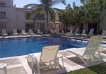 Location vacances Acapulco - Departamento con dos recamaras, dos baños completos y amplia sala de Tv a nivel de la Alberca en Acapulco Diamante, Precioso, Recién remodelado-1