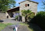 Location vacances  Ardèche - Vintage Holiday Home in Les Vans with Swimming Pool-1