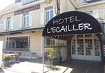 Hôtel Basse-Normandie - L'Ecailler-1