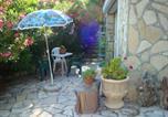 Location vacances Leucate - Studio caverne en pierre dans propriété sécurisée-4