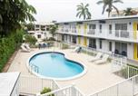 Location vacances Fort Lauderdale - Lovely apartment on the canal with a pool-1