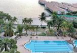 Location vacances Port Dickson - Port Dickson 10pax 3br Glory Beach Resort Seaview-2