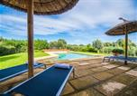 Location vacances Llubí - Llubi Holiday Home Sleeps 8 with Pool Air Con and Wifi-3