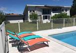 Location vacances Castets - Ocean 53 cottage avec piscine privée-2