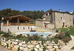 Location vacances Cornellà de Terri - Santa Maria de Camos Villa Sleeps 34 with Pool-2