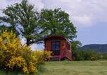 Camping avec WIFI Les Pradeaux - Domaine Les Roulottes et Cabanes du Livradois-4