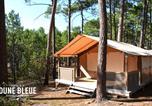 Camping en Bord de lac Gironde - Camping la Dune Bleue-2