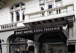 Hôtel Copenhague - First Hotel Kong Frederik-3