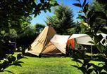 Camping avec Piscine couverte / chauffée Monfaucon - Camping La Cigaline-2