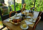 Hôtel Donville-les-Bains - Chambre Pervenche du Chalet Scissia-3