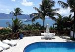 Hôtel Ilhabela - Encantos Do Mar Casa com vista para mar no Siruiba-1