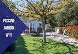 Location vacances Grimaud - Le Riviera Mobil home avec jardin et terrasse-1