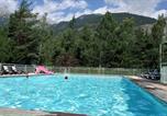 Camping avec Ambiance club Hautes-Alpes - Camping l'Iscle de Prelles-1