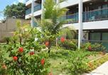 Hôtel Natal - Araça Flat - Beira mar - Apto104 Térreo frente mar-3