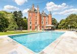 Location vacances Romenay - Vescours Chateau Sleeps 20 Pool Wifi-1