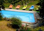 Location vacances Vaglio Serra - Apartment with 2 bedrooms in Moasca with private pool furnished terrace and Wifi-1