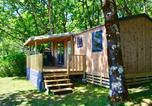 Camping avec Site nature Creysse - Camping Sites et Paysages Les Hirondelles (Rocamadour-Sarlat)-3