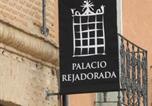 Hôtel Tiedra - Palacio Rejadorada-4