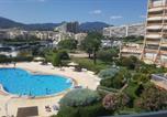 Location vacances Mandelieu-la-Napoule - Somptueux 3 pièces vue sur piscine-3