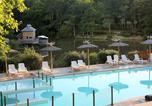 Camping avec WIFI Rauzan - Camping - Sites et Paysages Etang de Bazange-1