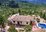 Location vacances Castell de Castells - We Love Villas - Villa el Paraiso-2