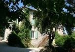 Location vacances Grospierres - Appartement de 2 chambres a Grospierres avec magnifique vue sur la montagne piscine partagee jardin clos-2