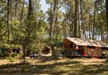 Camping avec Hébergements insolites Landes - Huttopia Landes Sud-4