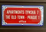Location vacances Praha - Apartments Týnská 7-3