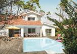 Location vacances Vielle-Saint-Girons - Holiday home Moliets 22 with Outdoor Swimmingpool-1