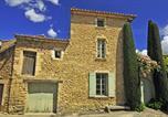 Location vacances Cabrières-d'Avignon - Villa in Les Imberts, Nr Gordes-1