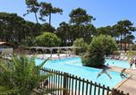 Camping avec Piscine couverte / chauffée Biscarrosse - Camping Plage sud -3