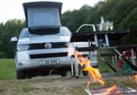 Camping Royaume-Uni - Luxury heated glamping Vw Camper Lake Windermere-3