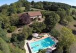 Location vacances  Lot - Quaint Holiday Home in Thedirac with Swimming Pool-1