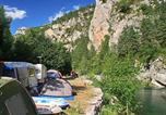 Camping  Acceptant les animaux Lozère - Camping Huttopia Gorges du Tarn-1