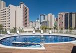 Location vacances São Paulo - Studio 410 - Lazer, piscina aquecida e academia na Bela Vista-2