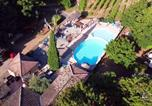 Camping avec Ambiance club Ardèche - Camping Les Cruses-1