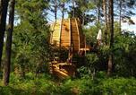 Camping Réaup-Lisse - Cap'Cabane-1