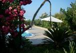 Location vacances Trabia - Apartment in villa with pool and garden-4