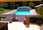 Location vacances Bretagne-d'Armagnac - Villa with 3 bedrooms in Sainte Maure de Peyriac with private pool enclosed garden and Wifi-2