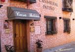 Location vacances  Soria - Casa Rural Patiño-1