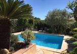 Location vacances Grimaud - Lovely holiday home in Cogolin with Private Terrace-1