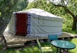Location vacances Saint-Quentin-de-Caplong - Yourte mongole véritable-1