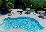 Camping avec Site nature Beaumont - Camping Les Chataigniers-4
