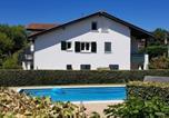Location vacances Bord de mer de Bidart - Guethary Appartement Plain Pied Proche Plage Cenitz-1