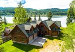 Location vacances Cocolalla - Antler Cove Log Home-3
