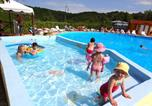 Camping avec Ambiance club Saint-Pierre-Lafeuille - Camping Quercy Vacances-1