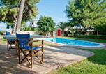 Location vacances Xylokastro - Private pool villa with view at Corinthian bay-3