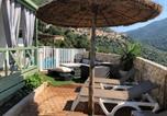 Location vacances Olmeto - Chalet d'une chambre a Olmeto avec magnifique vue sur la mer piscine privee jardin amenage-3