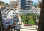 Location vacances Corbera - Apartment with 2 bedrooms in Cullera with furnished balcony 500 m from the beach-1